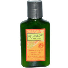 Andalou Naturals Vitalizing Shower Gel Travel Size Mandarin Vanilla - 2 fl oz