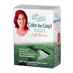Light Mountain Color The Gray Light Brown - 7 fl oz