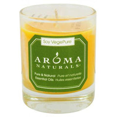 Aroma Naturals Soy Votive Candle - Relaxing - Glass
