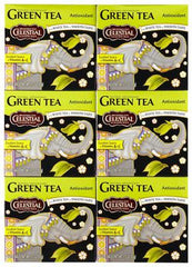 Celestial Seasonings Green Tea Antioxidant - Case of 6 - 40 Bag