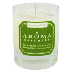 Aroma Naturals Soy Votive Candle - Medium Gray