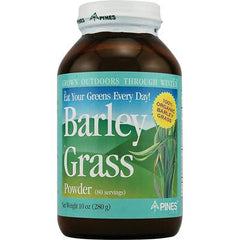 Pines International Barley Grass Powder - 10 oz