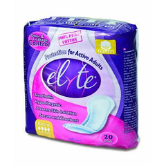 Elyte Light Cotton Incontinence Pads - Xtra - 20 Pack