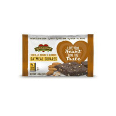 Corazonas Oatmeal Squares - Chocolate Brownie and Almond - Case of 12 - 1.76 oz