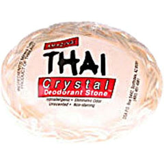 Thai Deodorant Stone Thai Crystal Deodorant Soap in Basket - 1 Bar