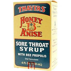 Thayers Honey-B-Anise Sore Throat Syrup - 5 fl oz