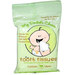 My Dentist's Choice Dental Wipes Tooth Tissues - 30 Wipes