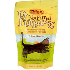 Zuke's Natural Purrz Cat Treats Chicken - 3 oz