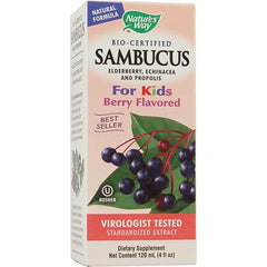 Nature's Way Sambucus Kids Syrup Berry - 4 fl oz