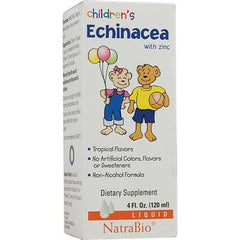 NatraBio Children's Echinacea with Zinc - 4 fl oz