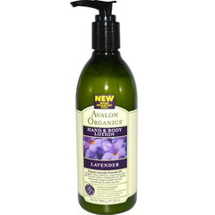 Avalon Organics Hand and Body Lotion Lavender - 12 fl oz