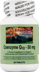 FoodScience of Vermont Coenzyme Q10 - 50 mg - 60 Tablets
