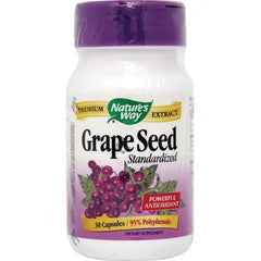 Nature's Way Grape Seed Standardized - 30 Capsules