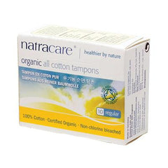Natracare Tampons - Regular - 10 Pack
