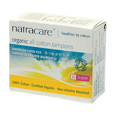 Natracare Tampons - Super - 10 Pack