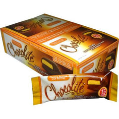 Chocolite Bar - Peanut Butter Cup Patties - Case of 16 - 2/.84 oz