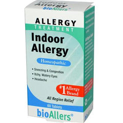 BioAllers Indoor Allergy - 60 Tablets