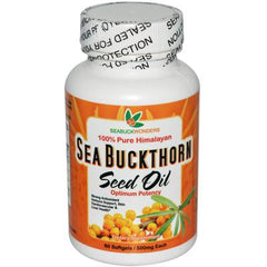 Seabuck Wonders Sea Buckthorn Seed Oil - 500 mg - 60 Softgels