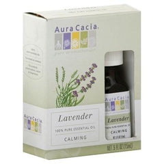 Aura Cacia Essential Oil Lavender - 0.5 fl oz - Case of 3