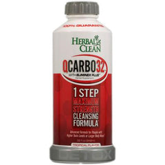 Herbal Clean QCarbo32 with Eliminex Plus Tropical - 32 fl oz