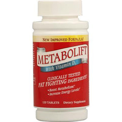 Twinlab Metabolift with Vitamin D3 - 120 Tablets