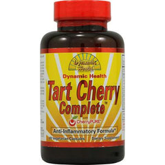 Dynamic Health Tart Cherry Complete with CherryPure - 60 Vegetable Capsules