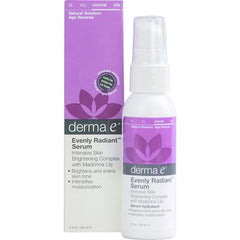 Derma E Evenly Radiant Serum - 2 fl oz