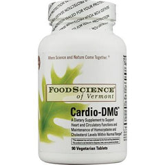 FoodScience of Vermont Cardio-DMG - 90 Vegetarian Tablets