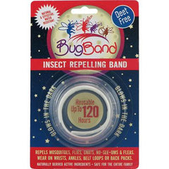 BugBand Insect Repelling Band Glow-In-The-Dark - 1 Band - Case of 12