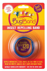Bug Band Wristband Insect Repellent Blue - Case of 12