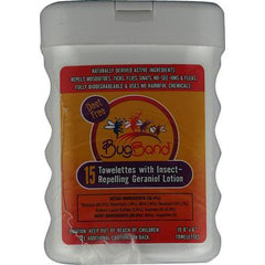 BugBand Insect Repelling Towelettes - 15 Towelettes - Case of 12