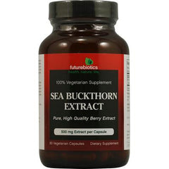 Futurebiotics Sea Buckthorn Extract - 500 mg - 60 Vegetarian Capsules