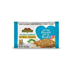 Corazonas Oatmeal Squares - White Chocolate - Case of 12 - 1.76 oz