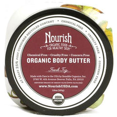 Nourish Organic Body Butter Fresh Fig - 3.6 oz