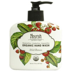 Nourish Organic Hand Wash Wild Berries - 7 fl oz
