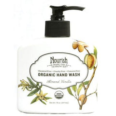 Nourish Organic Hand Wash - Almond Vanilla - 7 fl oz
