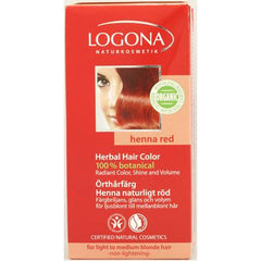 Logona Naturkosmetik Herbal Hair Color - Henna Red - 3.5 fl oz