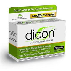 Dicon Active Digestive Supplement - 30 Caps
