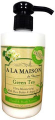 A La Maison Lotion - Green Tea - 10 oz