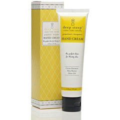 Deep Steep Hand Cream Grapefruit Bergamot - 2 fl oz