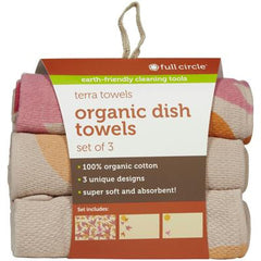 Full Circle Home Terra Towels - Evening Flight - Case of 6 - 3 Pack