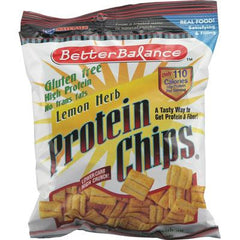 Kay's Naturals Better Balance Protein Chips Lemon Herb - 1.5 oz - Case of 6