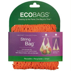 EcoBags Market Collection String Bags Long Handle - Mango - 1 Bag