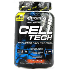 MuscleTech Cell-Tech Hardgainer Creatine Formula Orange - 3 lbs