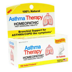 Trp Company Asthma Therapy - 70 Tablets
