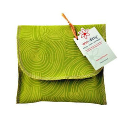 Eco Ditty Sandwich Bag - Let It Grow Green