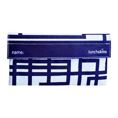 Lunchskins Snack Bag - Navy Blue Circuit