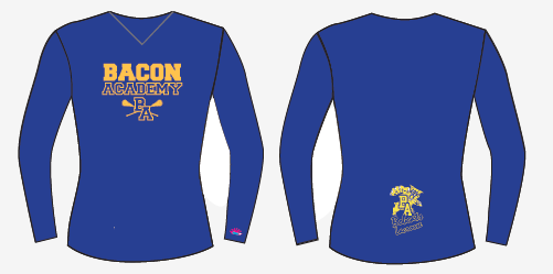 Bacon Academy Long Sleeve Shooter Shirt