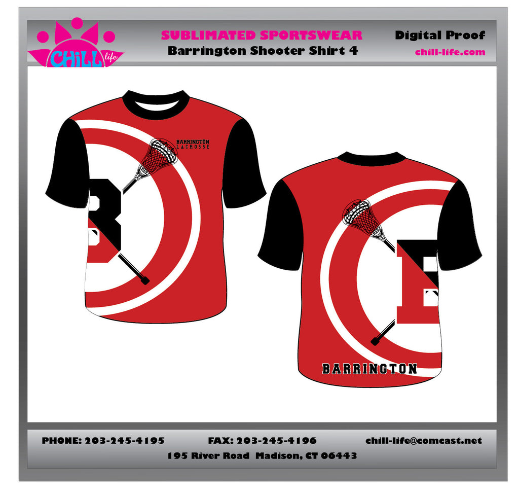 Barrington Uniform Shooter Shirt-