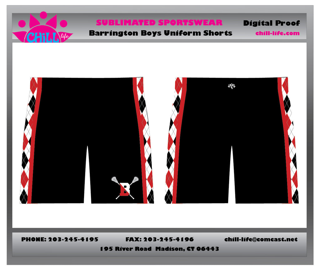 Barrington Lacrosse Uniform Short-